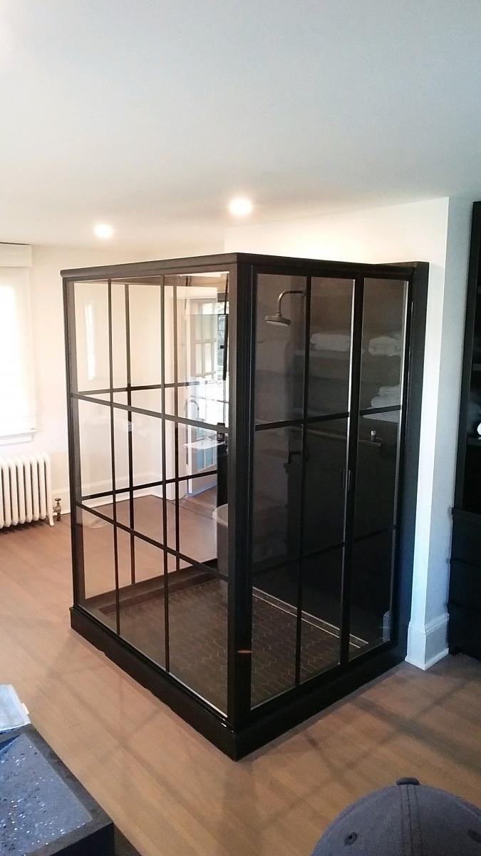 Custom Semi Frameless Shower Doors In Central Nj Glass Castle