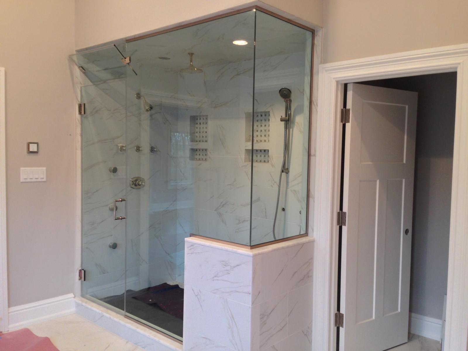 Imperial Series Frameless Glass Shower Doors In Nj Glass